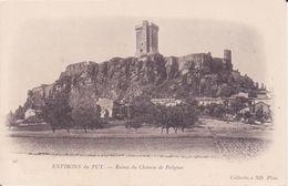 CPA -  26. ENV DU PUY - Ruines Du Château De Polignac - Le Puy En Velay
