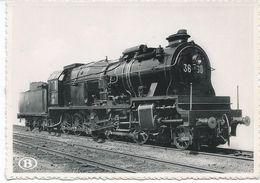 "1910 Locomotive Type 36 ""Decapod"" - Belgique"