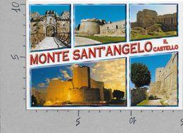 CARTOLINA NV ITALIA - MONTE SANT'ANGELO (FG) - Il Castello - Vedutine - 10 X 15 - Foggia