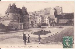 CPA - 15. DIEPPE - Les Tourelles Et Le Château - Dieppe