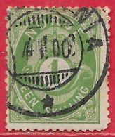 Norvège N°16 1s Vert 1871-75 O - Norvège