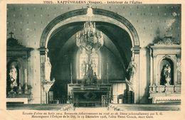 XAFFEVILLERS Intérieur église - Autres Communes