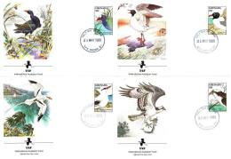 Grenada Fdc 1988 International Audobon Fund Birds - Collections, Lots & Series