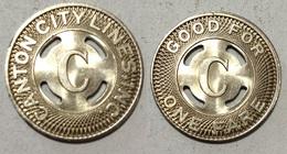 TOKEN JETON GETTONE TRASPORTO TRANSIT U.S.A. CANTON CITY - Monétaires/De Nécessité