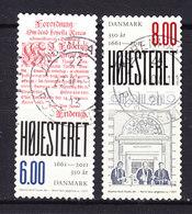 Denmark 2011 Mi. 1636-37    6.00 & 8.00 Kr Højesteret Supreme Court 350 Year Anniversary Complete Set !! - Dänemark