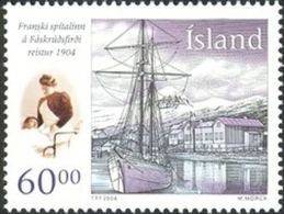 Iceland 2004 Mih. 1077 Medicine. French Hospital MNH ** - Nuovi
