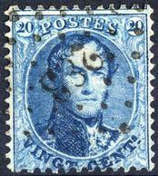 1863 - Nr 15A - 283 Ostende - 1863-1864 Médaillons (13/16)