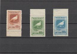 CHINA - 18-03-02 COMPLET SET.MICHEL # 57-59.  II EDITION. MNH **. - 1949 - ... République Populaire
