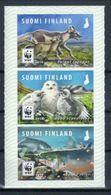 Finnland 'WWF Polarfuchs Schnee-Eule Lachs' / Finland 'WWF Polar Fox, Snowy Owl & Salmon'  **/MNH 2018 - Postzegels