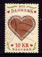 Denmark 2015 Mi. ????  10.00 Kr. Bagværk Gebäck Pastries Pâtisseries Heart Herz Coer - Dänemark