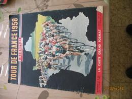 """Tour De France 1958 - Supplément Au """" Miroir Sprint """" 626  !!  SANS LA CARTE MURALE (fr43) - Sport"""