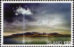 Iceland 2008 Mih. 1214 Imagine Peace Tower MNH ** - Nuovi