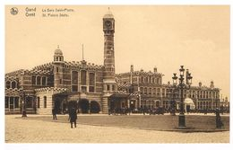 GAND / GENT : La Gare Saint-Pierre - Gent