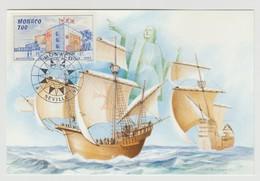 Monaco : Carte Maximum Exposition Universelle De Séville 1992 - Neuve - - Cartas Máxima