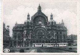 La Gare D'Anvers-Central. - Belgique