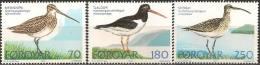 Foroyar Island 1977 Stamps Sea Birds MNH - Marine Web-footed Birds