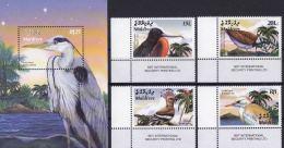 Maldives 2003 S/Sheet & Stamps Birds MNH - Marine Web-footed Birds