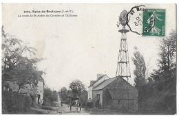 35 - SENS DE BRETAGNE  - ÉOLIENNE ROUTE DE ST AUBIN DU CORMIER   N - Frankrijk
