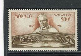 MONACO - Y&T Poste Aérienne N° 70** - Lourdes - Nouvelle Basilique Souterraine - Saint Pie X - Airmail