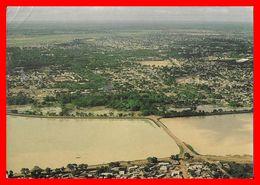 CPSM/gf  OUAGADOUGOU (Haute-Volta) Depuis Es Barrages De Ouagadougou...B814 - Cartes Postales