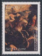 "Sierra Leone 2004 Mi 4501 ** ""St. Georg And The Drake"" By Jacopo Tintoretto / Gemälde - Hermitage - Religie"