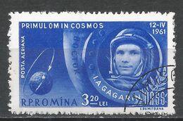Romania 1961. Scott #C104 (U) Yuri A. Gagarin, Astronaut * - Poste Aérienne