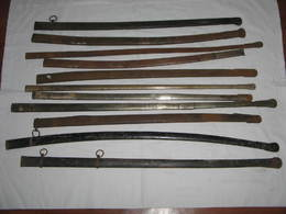 Lot 11x  FOURREAU Sabre Et Epee OFFICIER XIX ,old Sword,alter Säbel - Knives/Swords