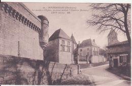 """CPA -  20. BOURDEILLES, La Montée à L'église Ancienne Maison """"chabrier Desbélies"""" - Altri Comuni"""