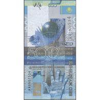 TWN - KAZAKHSTAN 29c - 500 Tenge 2017 Prefix ЖЖ UNC - Kazakhstan