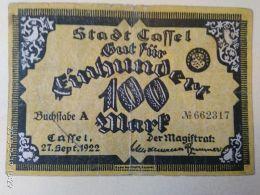 Cassel 100 Mark 1922 - [11] Emissioni Locali