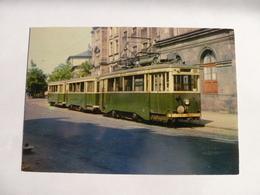COLMAR : Tramway MOTRICE 22 Rame Avec Remorques Satramo-De Dietrich Construction 1935  - Détails 2 Scans - Tramways