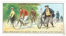 Chromo Chocolat Aiguebelle, L'abus De L'alcool ... L'anti-alcoolisme ( Vélos, Cyclisme ) - Aiguebelle