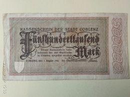 Coblenz 500000 Mark 1923 - [11] Emissioni Locali