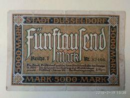 Dusseldorf 5000 Mark 1923 - [11] Emissioni Locali
