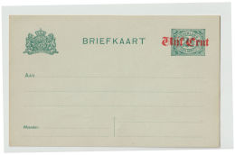 Nederland Briefkaart 1920 GD  Nr. 81a 1   Mint - Material Postal