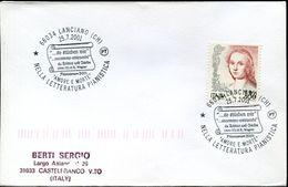31406  Italia, Special Postmark 2001 Lanciano,richard Wagner Opera Tristan And Isolde - Muziek