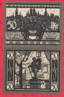 Allemagne 1 Notgeld 50 Pfenning  Stadt Münster UNC Lot N °97 - 1918-1933: Weimarer Republik