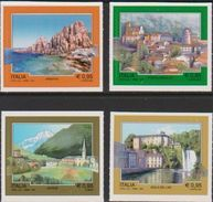 ITALY , 2017, MNH, TOURISM, VIEWS, MOUNTAINS, WATERFALLS, CHURCHES, 4v - Other