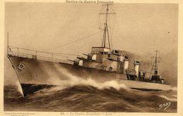 Marine Militaire Francaise  -  Le Contre-Torpilleuur 'Lynx'  - CPA (Composition De Robert Blondel) - Guerre