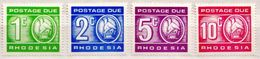 Rhodesia MNH Postage Due Stamps - Rhodesia (1964-1980)