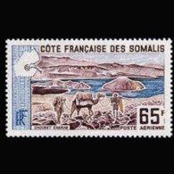 SOMALI COAST 1965 - Scott# C38 Camels 65f MNH - Costa Francese Dei Somali (1894-1967)