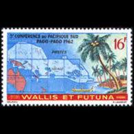 WALLIS & FUTUNA 1962 - Scott# 158 SPC Conf. Set Of 1 MNH - Wallis Y Futuna