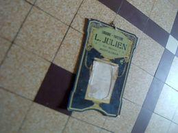 Pubblicité   Support En  Carton De Calendrier  Publicitaire Librairie- Papeterie Julien A Montauban Annee 1925 - Calendars