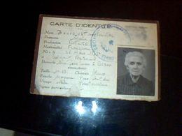 Carte D Identitee Ancienne Mme Bousquet  Maria A Casers - Calendars