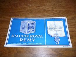 Buvard Amidon Royal Remy Wygmael Wijgmaal - Textile & Vestimentaire