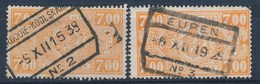 "TR 159 (2x) - ""ARDOOIE-KOOLSKAMP Nr 2"" + ""EUPEN Nr 3"" - (ref. LVS-19.972) - 1923-1941"
