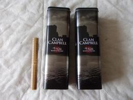 Boite En Métal Clan Camptbell The Noble Scotch Whisky Boites Vendu Séparément - Boîtes