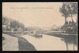 CHALONS S.MARNE = CANAL DE LA MARNE AU RHIN - Châlons-sur-Marne