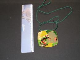 GOE - MAISON COMMUNALE - 1973 - Médaille émaillée Avecconte Loup Et Pêtits Cochons - - Altri