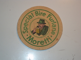 ITALIA SOTTOBICCHIERE DELLA BIRRA MORETTI UDINE FRIULI - Unclassified